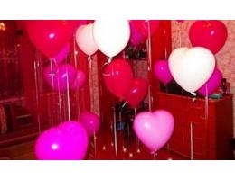 Близится День Святого Валентина что подарить- Шары в форме сердец