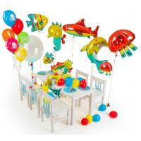 """Оформление шарами пакет детский """"Водный мир"""""""