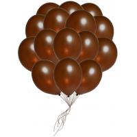 "Шары с гелием  ""Шоколад"" (25 штук)"