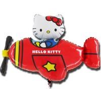 Ф ФИГУРА/11 Hello Kitty самолет краснFM