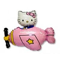 Ф ФИГУРА/11 Hello Kitty самолет розовFM