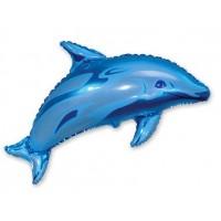 Ф ФИГУРА/11 Дельфин голубой(FM)