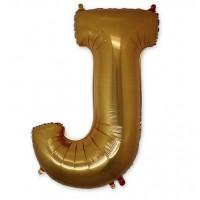 "Г БУКВА J 40"" Gold"
