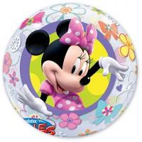 "П BUBBLE 22"" Disney Минни Бантики Цветы"