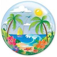 """П BUBBLE 22"""" Тропический рай"""