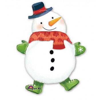А ФИГУРА/P45 Снеговик с шарфом