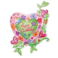 А ФИГУРА/P35 HB Сердце в цветах