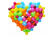 """Фигуры из шариков """"Сердце"""""""