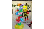"Фигуры из шариков ""Пчелка"""