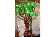 """Фигуры из шариков  """"Дерево"""""""