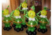 "Фигуры из шариков ""Солдатики"""