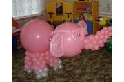 """Фигуры из шариков """"Слон"""""""