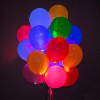 """Светящиеся шары """"№6"""" 25 шт."""