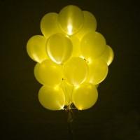"""Светящиеся шары """"№2"""" 25 шт."""
