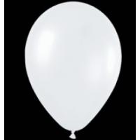 Шар (12''/30 см) Белый (005), пастель, 100 шт.