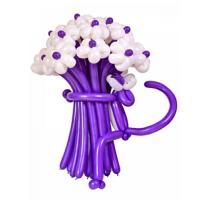 Букет цветов Фиолетовая пантера 19 шт