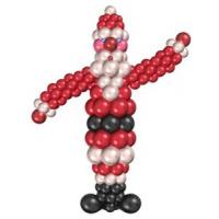 Фигура из шаров дет мороз 2 метра