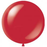 Шар с гелием красный 1 метр