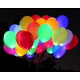 """Светящиеся шары с гелием """"Ассорти"""" (35 см )25 шт."""