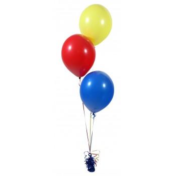 Фонтан из шаров с гелием из 3 шт.